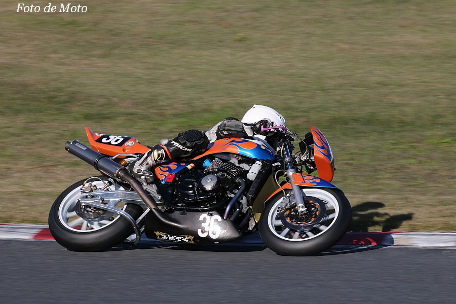 ZERO-4 #36 矢正興業☆RTニトロ+リキモリ 山岡 陸 HONDA CB400SF