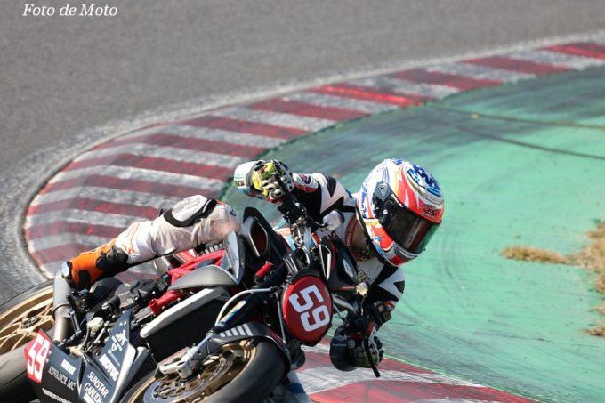 FZERO #59 CARAMELL MOTORS  菊地 純 MV AGUSTA BRUTALE800RR