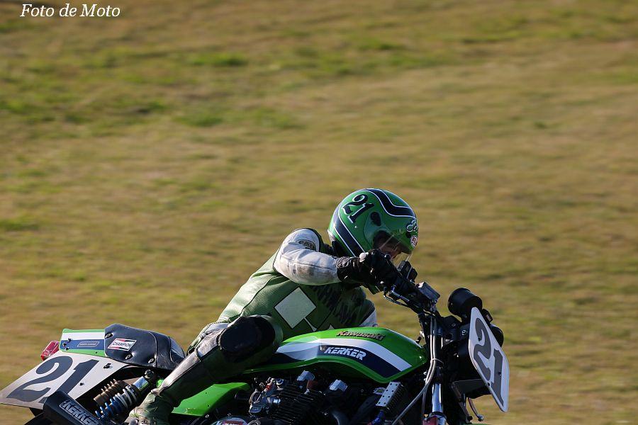 MONSTER #21 GREEN RACING 西河 泰弘 KAWASAKI KZ1000J