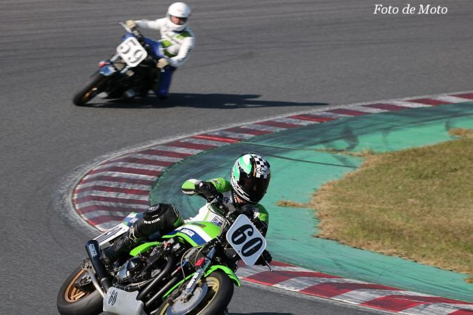 MONSTER #60 GREEN RACING  伏見 宜康 KAWASAKI KZ1000J