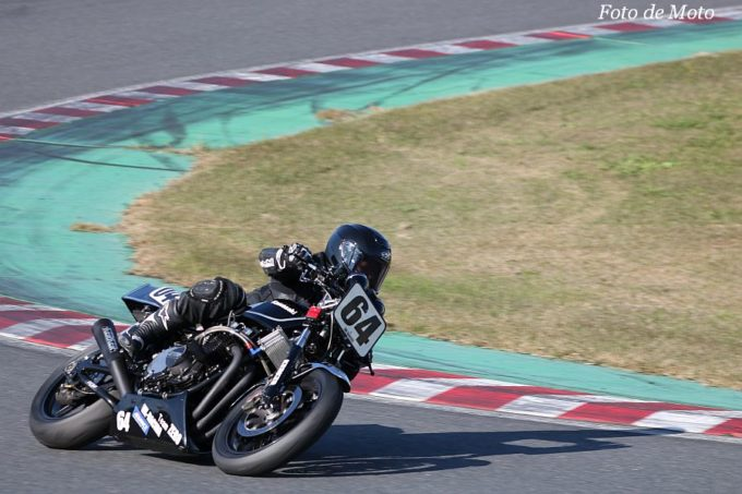 MONSTER #64 NK-RACING+Team-ZERO  岩井 良一 KAWASAKI Z1000MKⅡ
