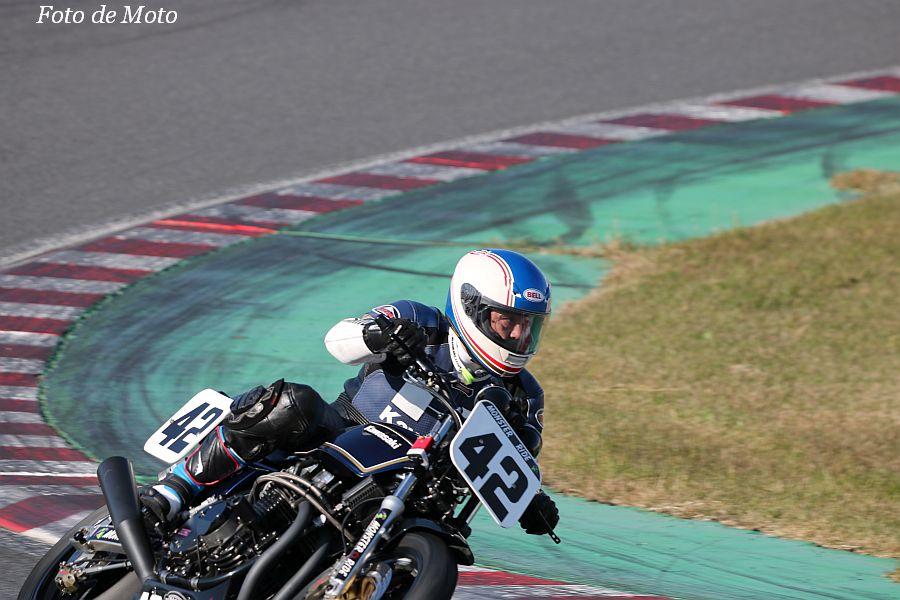 MONSTER #42 Monster☆Ride+Green Racing 和田 晴也 KAWASAKI Z1000MKⅡ