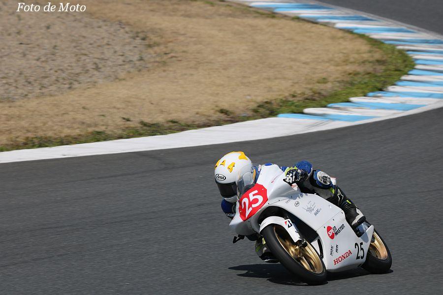 J-GP3インター #25 team hiro'ck&HARC 坂東 遼翼 Honda NSF250R