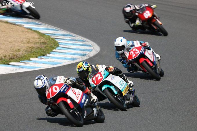 J-GP3インター #72 Team P.mu 7c MIKUNI  藤田 哲弥 Honda NSF250R