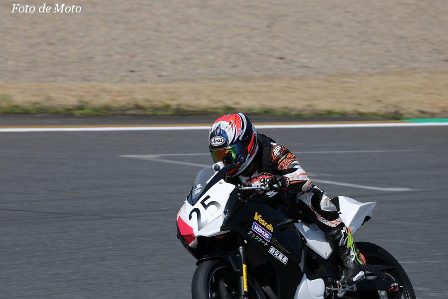 CBR250R Dream Cup #25 弾Run部RT 市川 貴志 Honda CBR250R