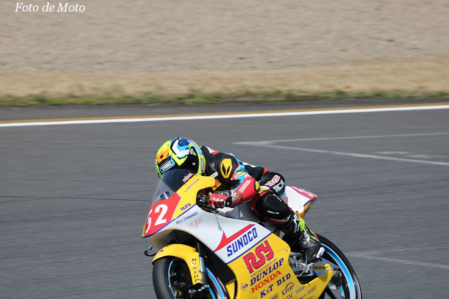 J-GP3 #52 ライダーズサロン横浜☆ペンスケ 上江洲 葵要 Honda NSF250R