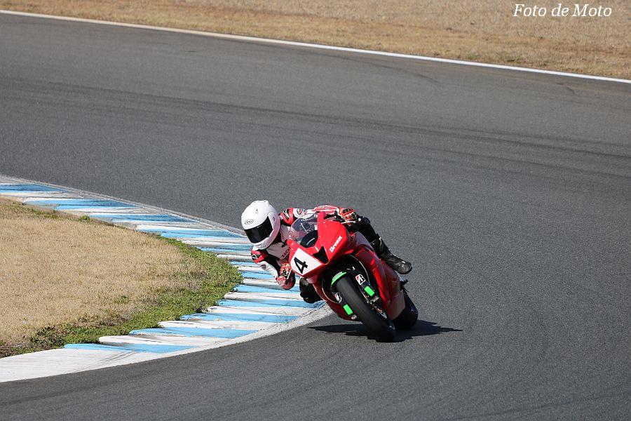 ST600 #4 Honda向陽会ドリームレーシングチーム 小滝 輝 Honda CBR600RR
