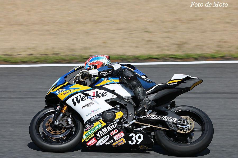 ST600インター #39 Webikeチームノリックヤマハ 阿部 恵斗 Yamaha YZF-R6