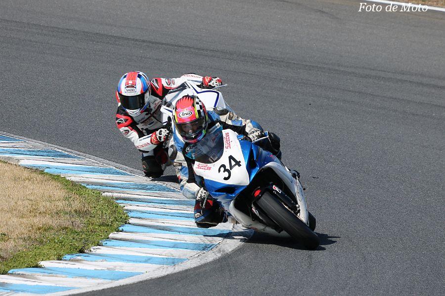 ST600 #34 Miki Pulley & 凸凹 Racing Team 西村 浩平 Suzuki GSX-R600L1