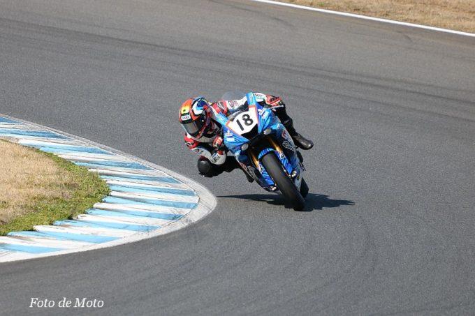 ST600インター #18 KT.plus&EPS Racing L8  横山 尚太 Yamaha YZF-R6