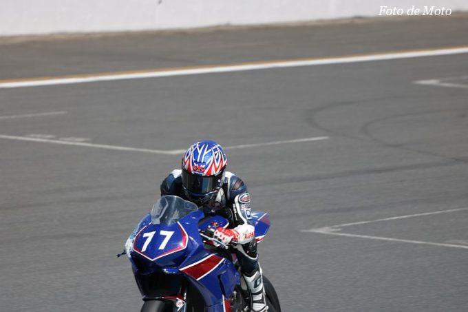 ST1000インター #77 石井りんご園 モトアルファ  佐藤 宏司 Honda CBR1000RR SP2