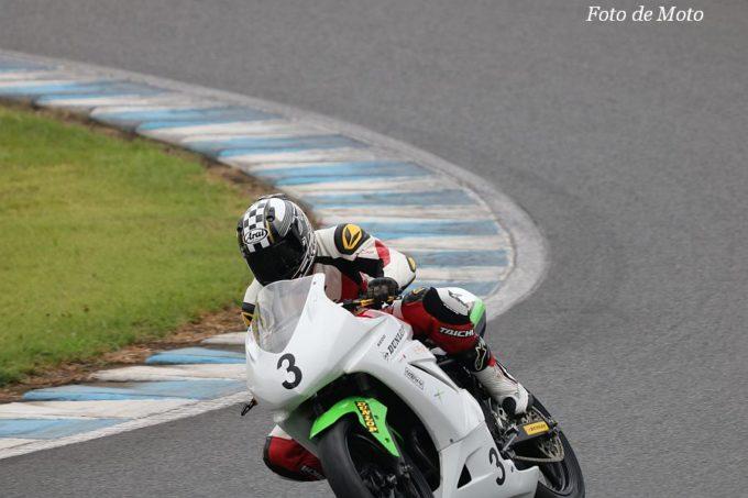 NST Ninja #3 芳井レーシング  佐藤 泰三 迫田 誠 芳井 隆夫  Kawasaki Ninja250R