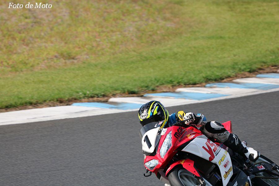 WT #1 YSSレーシング×MGR.レーシング 小板橋 達也 藤井 岳 神山 保男 Kawasaki NINJA250