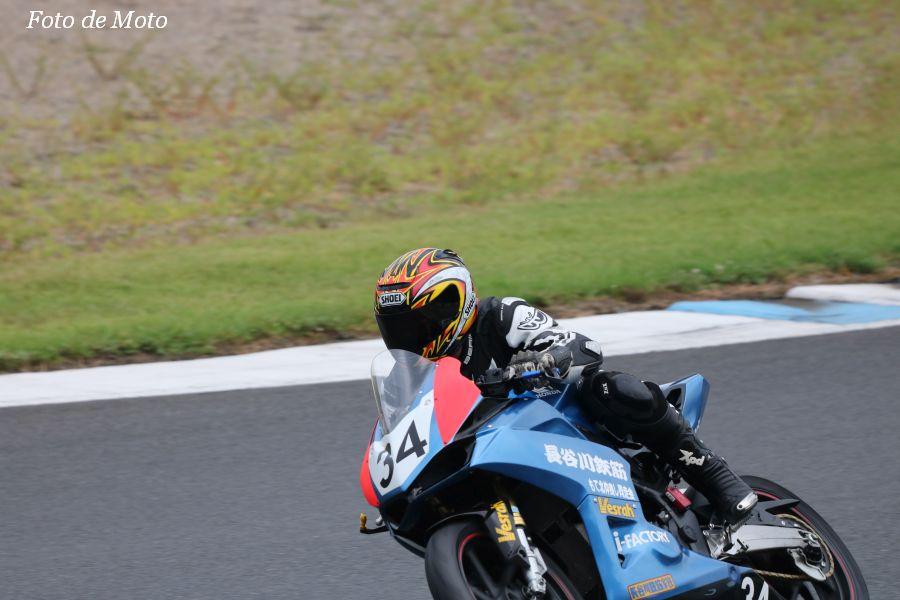WT #34 もて北仲良し同走会 大谷 正敏 星野 雅一 長谷川 修栄 Honda CBR250RR