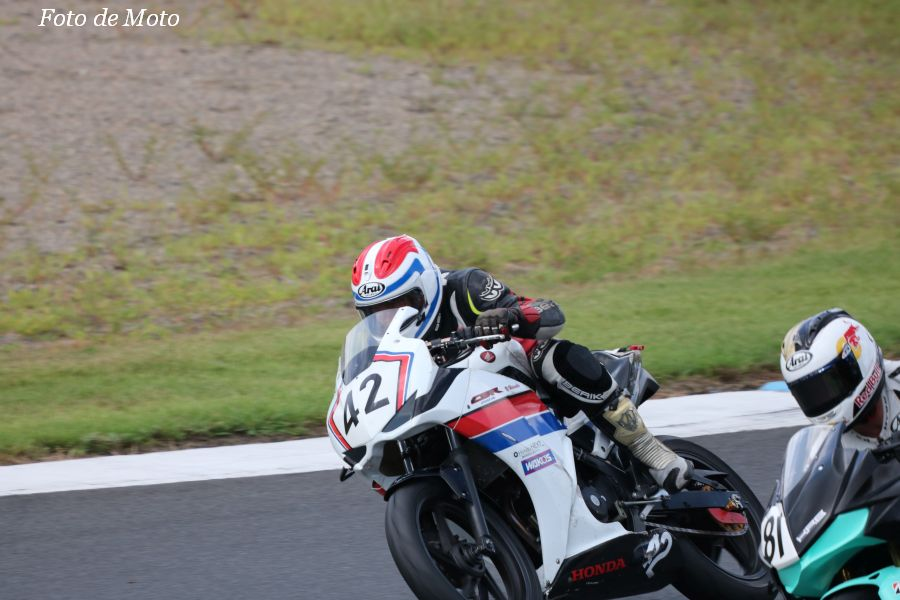 NST CBR #42 東京女装スクール 西田 知弘 森田 力 原田 祐嗣 Honda CBR250R