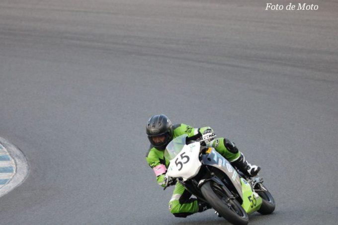 NST CBR #55 チームグリーンリボンK's-STYLEトンキン峠のバイクメン 波切 達野 酒井 勇一 五十畑 正 大澤 幸子 北澤 康寿 Honda CBR250R