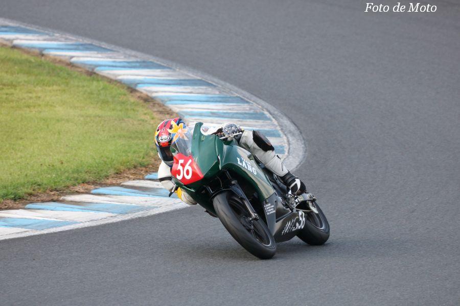 WS #56 TEAM LANG with MRSK 澤口 伸 中村 勝美 横尾 康一 Honda CBR250R
