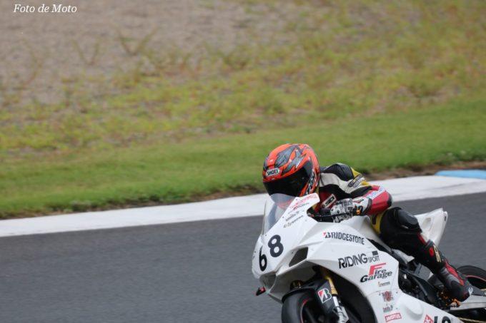 WT #68 ライディングスポーツファイヤ 八木 均憲 竹村 宏光 藤 善行 Honda CBR250RR