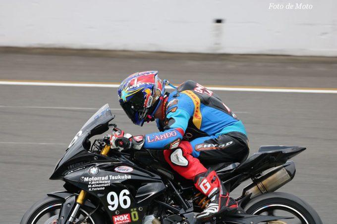 NST G310R #96 Motorrad Tsukuba 関川 剛 木鉛 正雄 舘野 光毅  BMW G310R