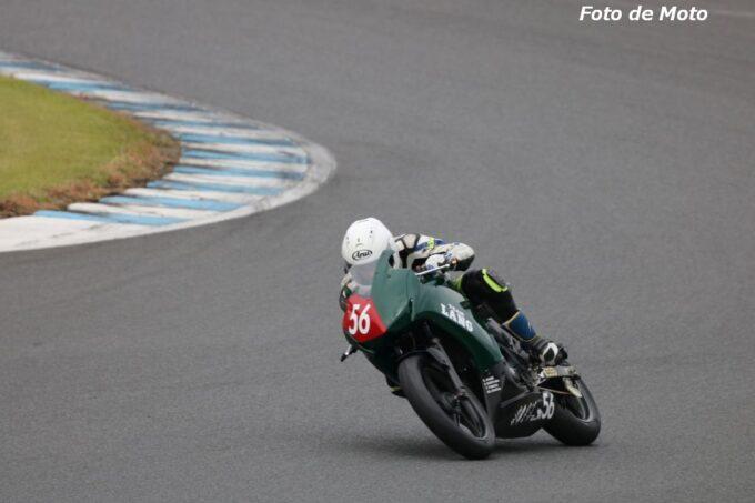 ST250S Eternal #56 TEAM LANG with MRSKとYJKR 澤口 伸 Honda CBR250R
