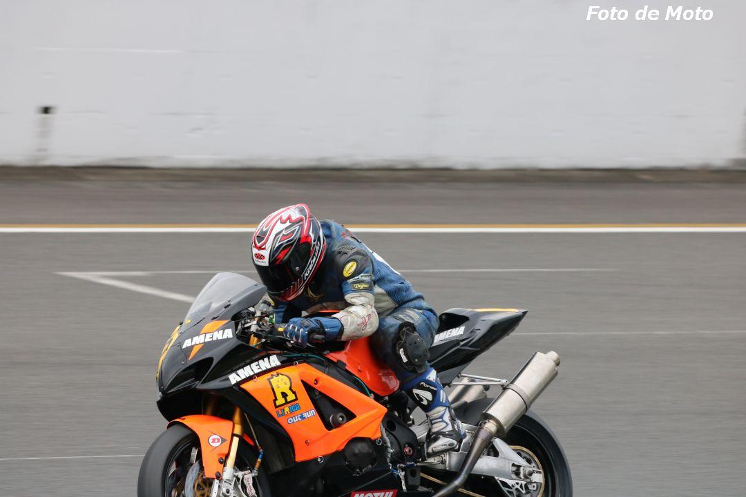 JSB1000インター #22 リリカAMENA+TeamBEE 立岡 隆広 Suzuki GSX-R1000