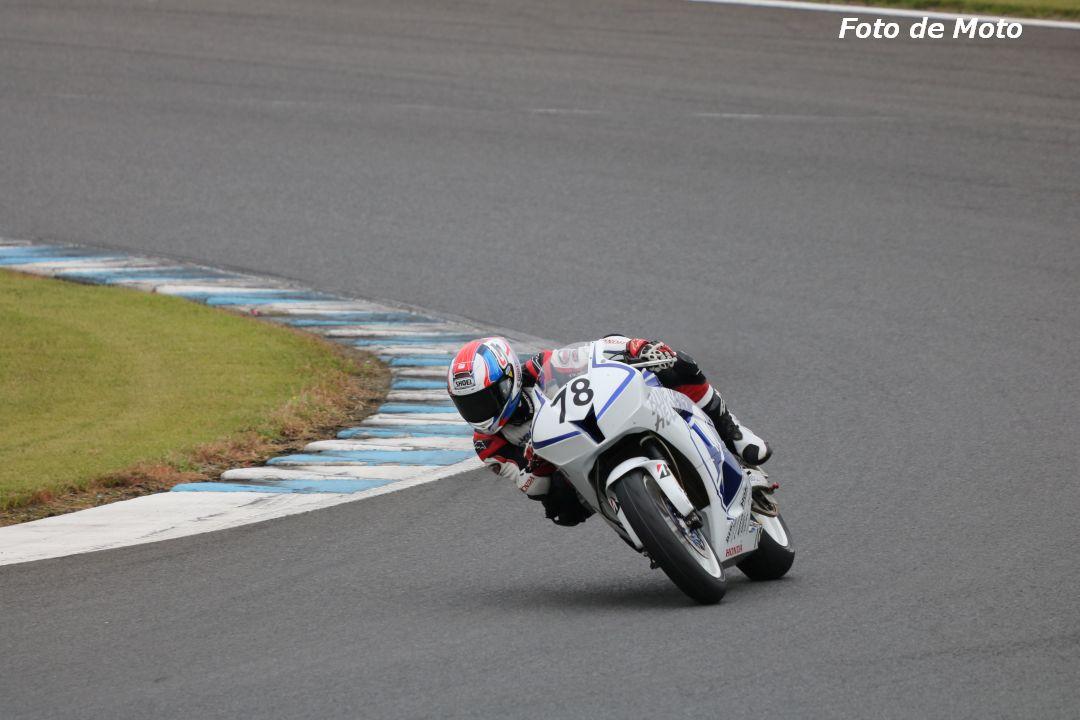 ST600 #78 HondaブルーヘルメットMSC 村上 勇人 Honda CBR600RR