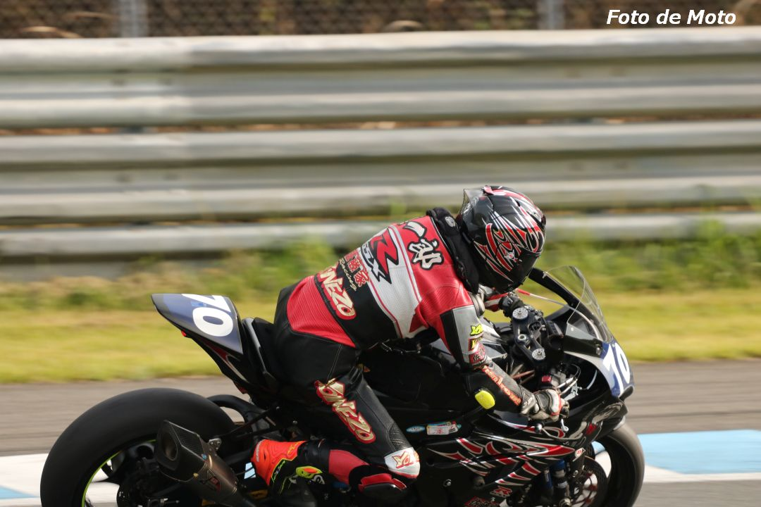 ST1000インター #70 佐藤家レーシング&MGR feat 中村EG 佐藤 慎一郎 Suzuki GSX-R1000R